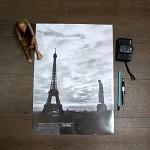 파리 에펠탑 Travel poster_ver2