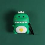 철가루스티커/에어팟 공룡 실리콘 케이스 1/2_그린216