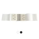 [디꾸보]비즈장식 버클 와이드 벨트 DCB-ST865