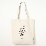 에코백 FLOWER POT CANVAS BAG -YS2094IF /IVORY