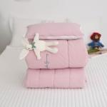 알러지케어 토끼인형 어린이집 낮잠이불세트-핑크