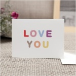 LOVE YOU 카드