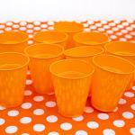 할로윈 칼라 컵 (오렌지/ 10개입)