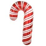 크리스마스 은박풍선 슈퍼쉐입 - 캔디지팡이