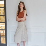 MODE SKIRT _ BEIGE