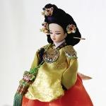 단장인형 여인천하시리즈 문정왕후 (30cm)
