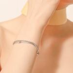 i_b18 - flat dot stone bracelets
