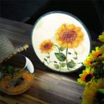 ne869-LED액자25R_부드러운해바라기꽃