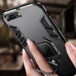 아이폰x 7 8 + 슬림핏 자석 스마트링 범퍼 하드케이스