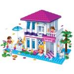 [3D퍼즐마을][반바오] BO6105 홀리데이 빌라