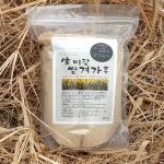 국내산 생 미강 쌀겨 가루