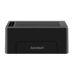 위즈플랫 USB3.0 2베이 하드 도킹스테이션 WIZ-3082 (독립형 복제 / 플러그 앤 플레이)