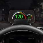 가제트 HUD 헤드업디스플레이 GHD9000 GPS+OBD2