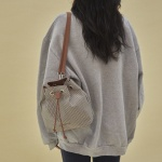 10/17[펀프롬펀]Carrie 2way check backpack (camel)