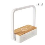 니드 무드등 휴대폰 무선충전 블루투스 스피커 NIID4