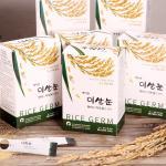 에이원 이쌀눈 국산 현미 100% 볶음 쌀눈 6BOX(180포)