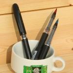 [Pentel] 굵고 얇게 생생하게 써지는 수성펜..일본 펜텔 Tradio stylo TRJ50