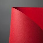 두성종이 매직터치 A4 120 빨간색 180g 10매