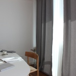 주조밍 내추럴톤 호텔 닮은 라이트그레이 암막커튼