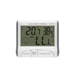 디지털 온도계 습도계 / 사각 온습도계 시계 LCTB405