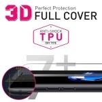 애플 아이폰7플러스 3D풀커버 충격방지 액정보호필름 (우레탄)
