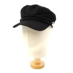 Linen Black Rope Marine Cap