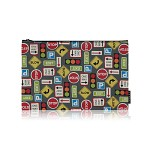 nother Road Signs Pouch / 나더 로드 사인 파우치 (Large)