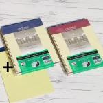 옥스포드 레터 100매 PP 포켓 절취클래식+패드 PPC1LT