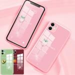 아이폰11 pro max 파스텔글라스 카메라보호 케이스