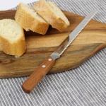 에코 나무 손잡이 빵칼 브레드 나이프