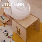 [꼬메모이] 리틀라핀 스툴 / 유아 가구 자작나무 의자