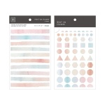 Miccudo 프린트-온 스티커 Ver.2 (7. Light Color)
