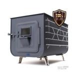 마끼스토브 캠핑용 화목 난로 히트에이스 풀세트 (난로 + 연통세트 + 수납가방)