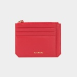 Dijon M201 Flap mini Card Wallet cherry red 디종 카드 월렛 체리레드