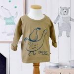 [플루토나인] 덕클링 언발란스 티셔츠