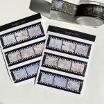 밍키트 벚꽃 와이드 필름 스티커