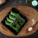 굳지않는 모시잎 앙꼬 가래떡 900g/30개내외