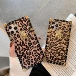 아이폰12 PRO MAX MINI/레오파드 골드핏 사각 케이스