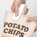 휴대용 다용도 간편 비닐 접착기 과자 밀봉 실링기