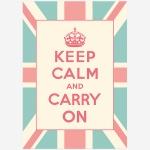 Keep Calm 킵캄 유니언잭 포스터 - A1