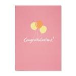 홀마크 축하 카드(풍선)-KED1553
