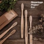 [정품 Nopackage Project] 친환경 대나무칫솔 부드러운미세모 밤부우드치솔 천연생분해
