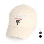 [디꾸보]컬러 레터 코튼 볼캡 공용 야구모자 AC706