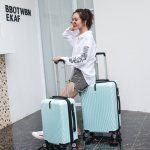 여행용 유럽 여행 예쁜 캐리어 가방 20형 민트