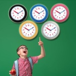 NEW 타임페어리 더 안전한 교육용 시계 (5컬러)