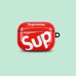 에어팟프로케이스 3세대 SUP 유광 실리콘 424레드_PRO
