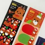 [사은품증정종료] 크리스마스 스티커 3종 세트팩