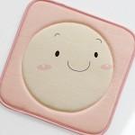 [바이빔] 스마일 메모리폼 방석-핑크