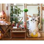 DIY패브릭 - 털실 아기고양이(점보사이즈 )