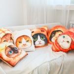 쿠션시리즈 『빵 고양이』